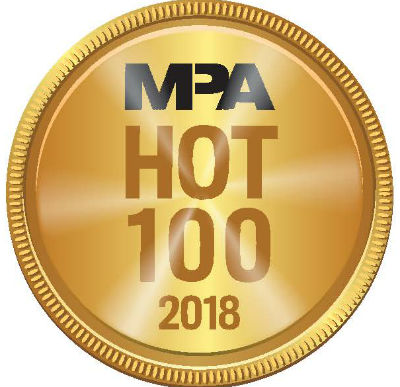 MPA Hot 100 2018 Medal